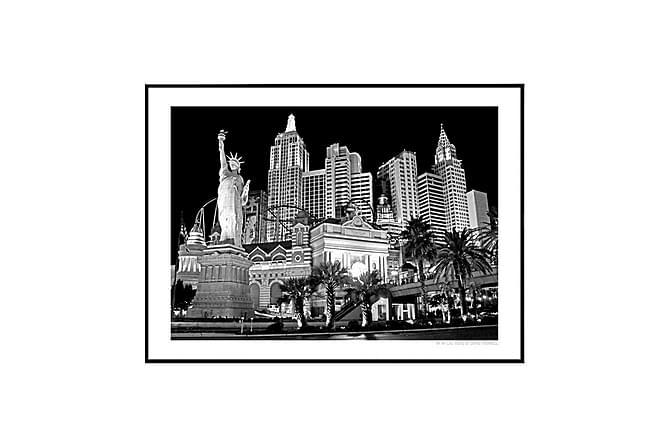 POSTER NYNY Las Vegas black - Finns i flera storlekar - Inomhus - Inredning - Posters & tavlor