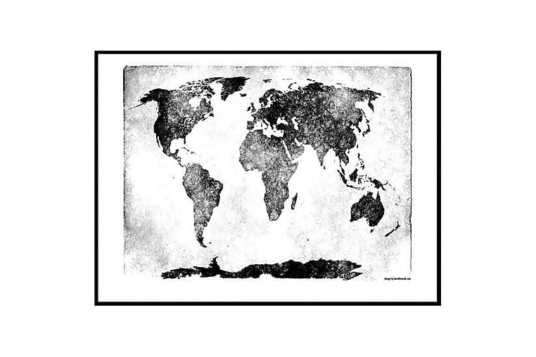 POSTER Retro World - Finns i flera storlekar - Möbler & Inredning - Inredning - Posters & tavlor