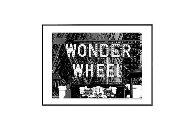 POSTER Wonder Wheel Rides - Finns i flera storlekar - Möbler & Inredning - Inredning - Posters & tavlor