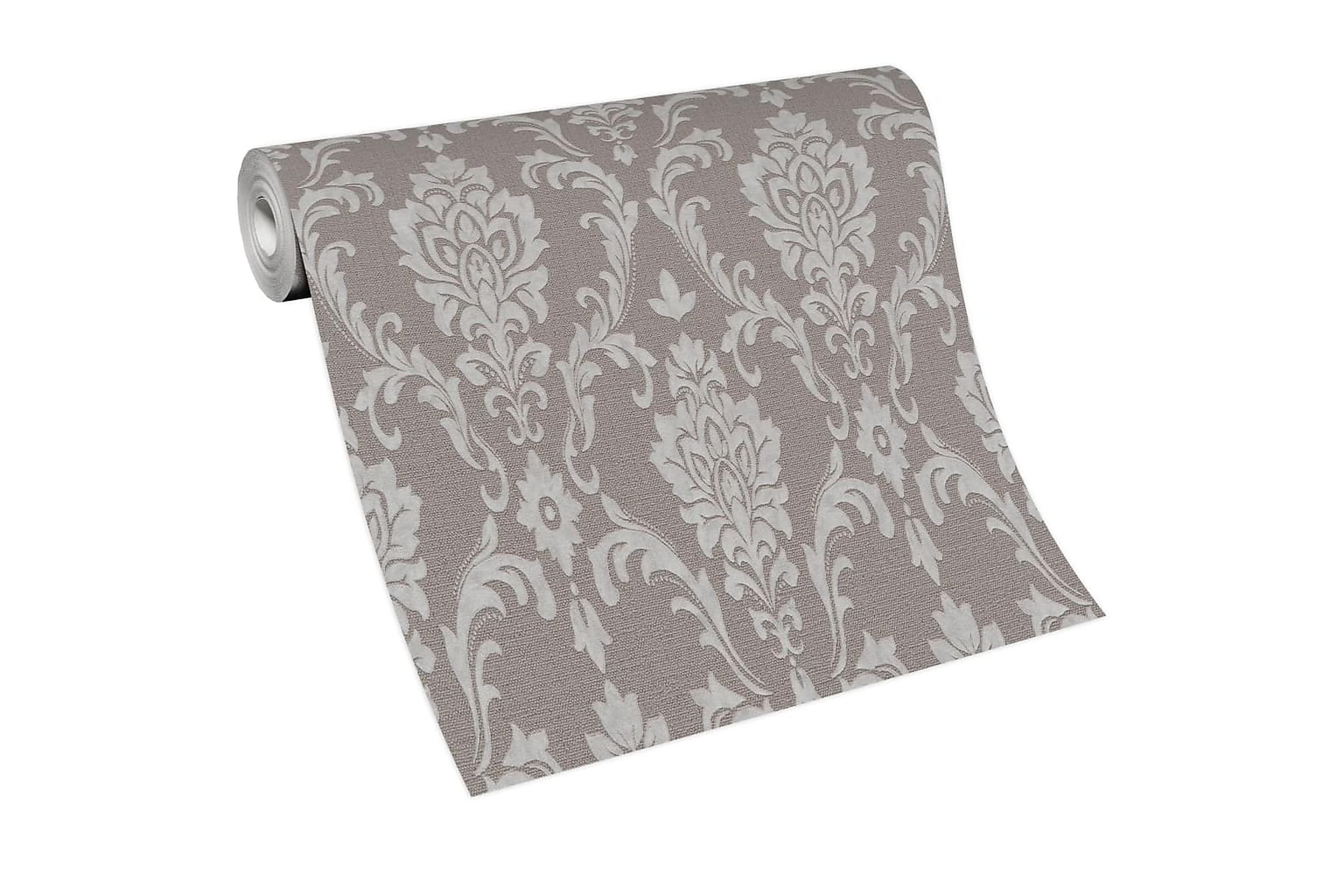 Non-woven tapetrullar 4 st taupe 0
