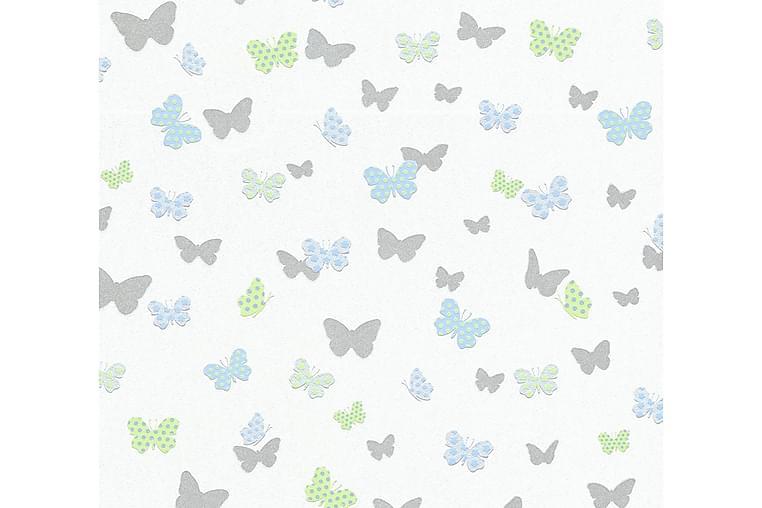 Barnrums Tapet Attractive Ovävd Vit - AS Creation - Möbler & Inredning - Inredning - Tapeter