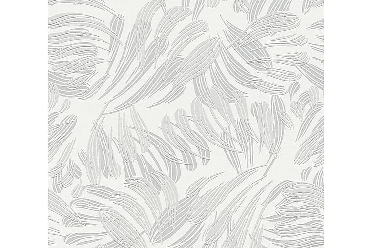Mönstrad Tapet Flavour Ovävd Grå - AS Creation - Möbler & Inredning - Inredning - Tapeter
