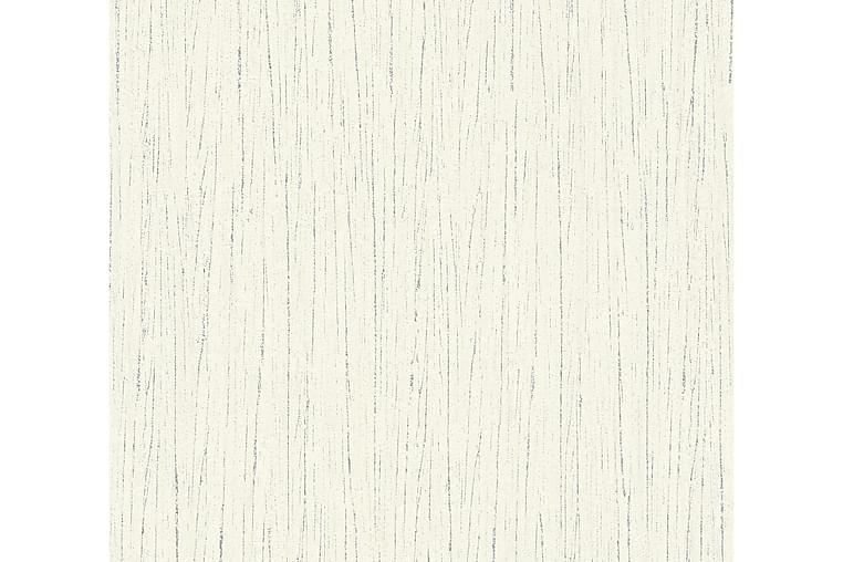 Mönstrad Tapet Flavour Ovävd Vit - AS Creation - Möbler & Inredning - Inredning - Tapeter
