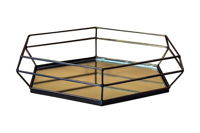 SPEGELBRICKA Brons - AG Home & Light - Möbler & Inredning - Inredning - Brickor