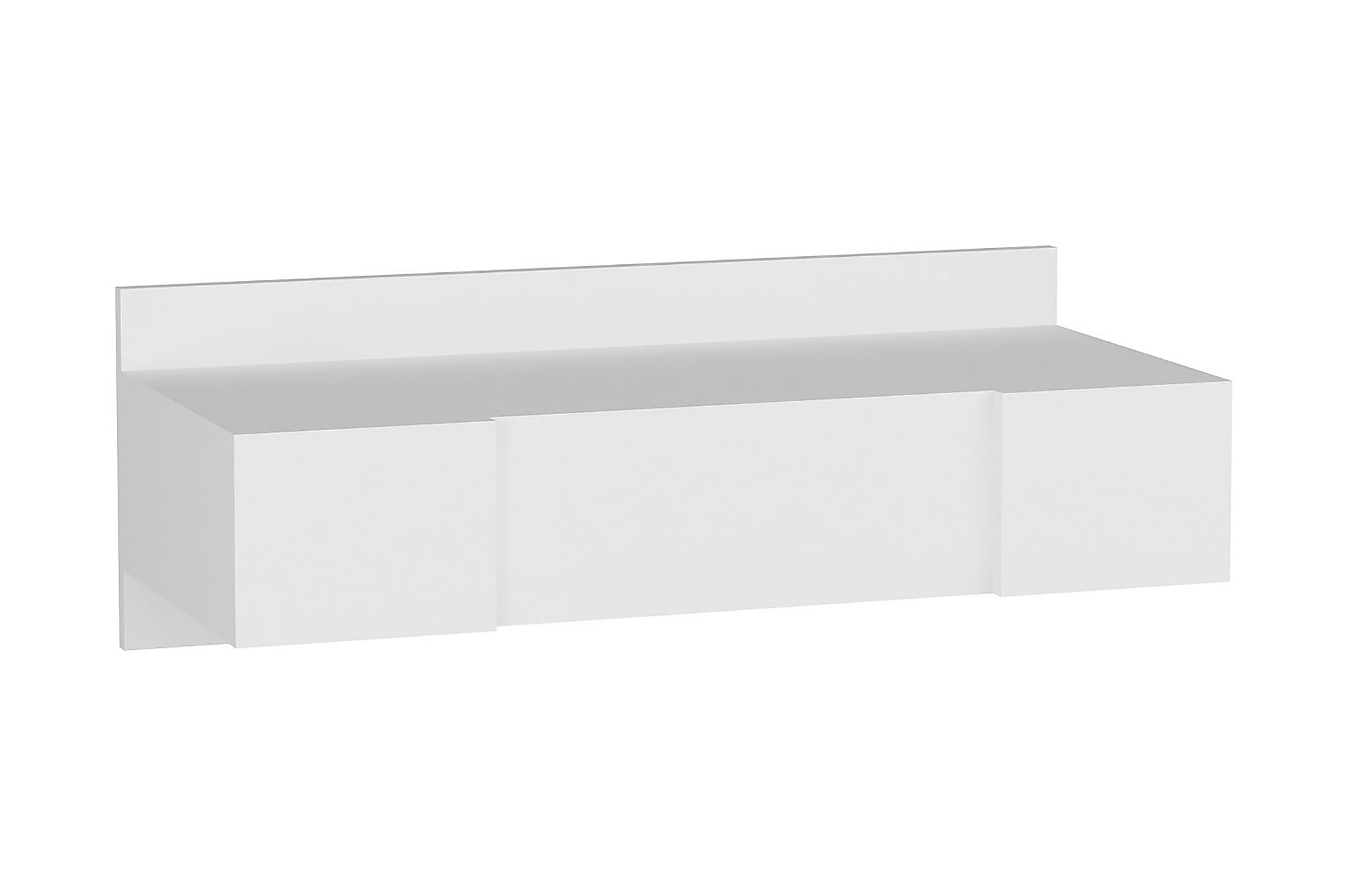DEBOSE Sminkbord 100 cm Vit, Sminkbord