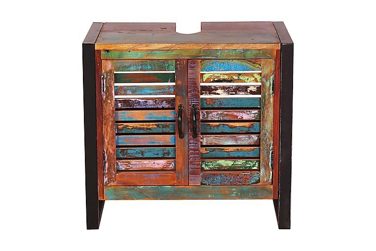NAYAKOTE Sminkbord 67x42 cm Återvunnet Trä/Flerfärgad - Möbler & Inredning - Bord - Sminkbord