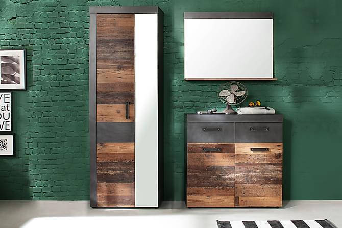 BUCINE Hallmöbelset 170 Grå - Möbler & Inredning - Möbelset - Möbelset för hall & entré