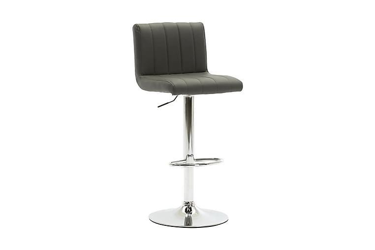 Barstol grå konstläder - Grå - Möbler & Inredning - Stolar - Barstolar