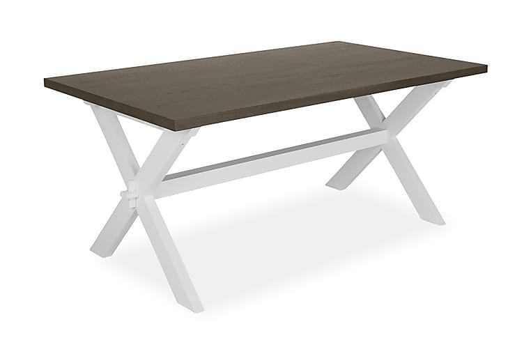 ANNE Matbord 180 Brun/Vit - Möbler & Inredning - Bord - Matbord