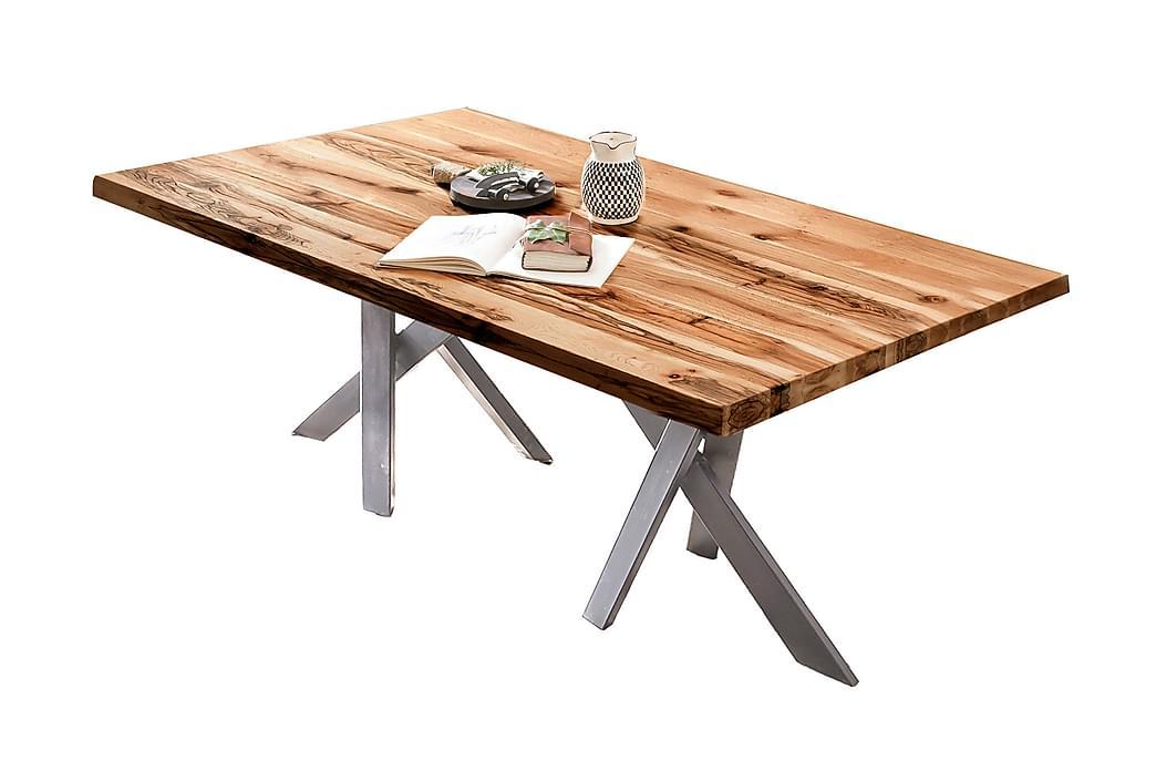 BAMRA Matbord 220 cm Ek/Silver - Möbler & Inredning - Bord - Matbord