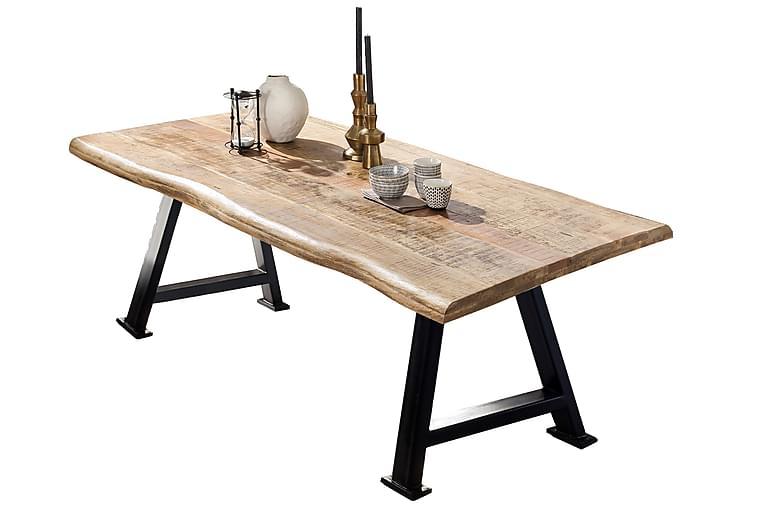 BAMRA Matbord 240 cm Mango/Natur/Svart - Möbler & Inredning - Bord - Matbord