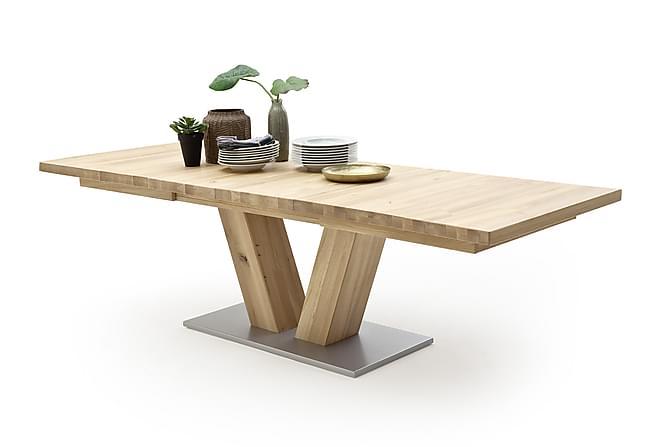 CARLEJU Förlängningsbart Matbord 180 Trä/Natur - Möbler & Inredning - Bord - Matbord