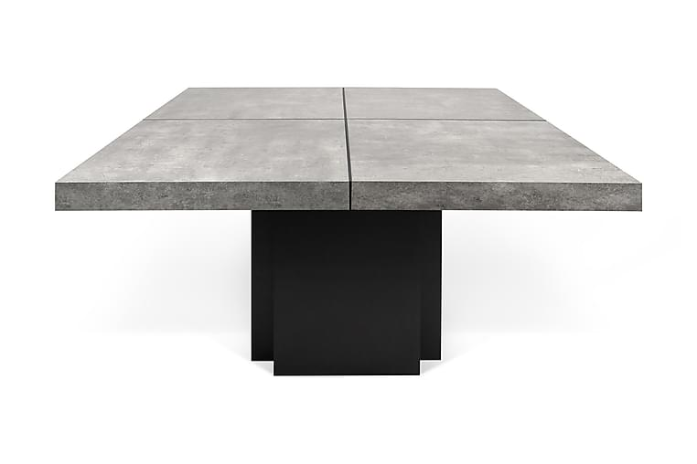 CODIAB Matbord 150 Svart/Betong - Möbler & Inredning - Bord - Matbord