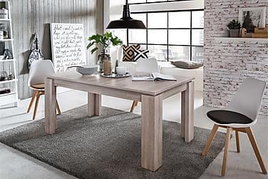 FRANTA Förlängningsbart Matbord 160 Trä/Natur