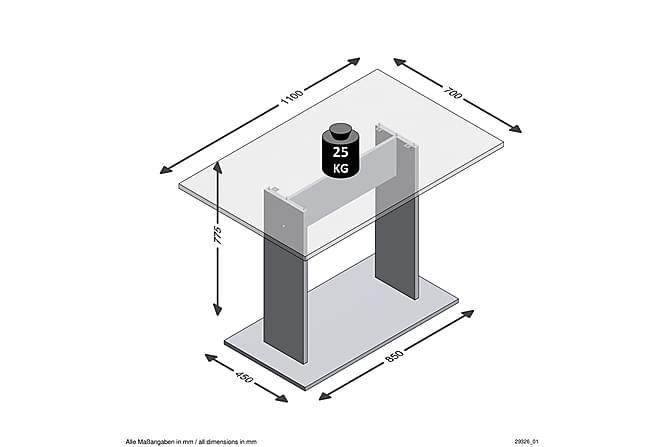 LEITH Matbord 70 Ek - Möbler & Inredning - Bord - Matbord
