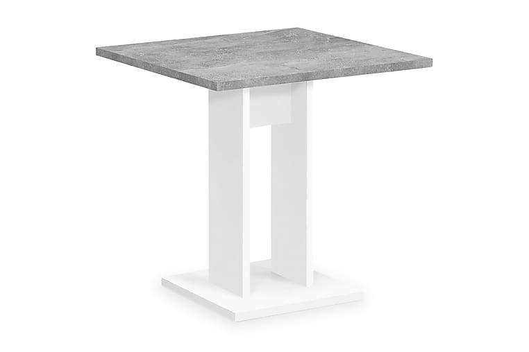 LEITH Matbord 70 Vit/Betong - Möbler & Inredning - Bord - Matbord