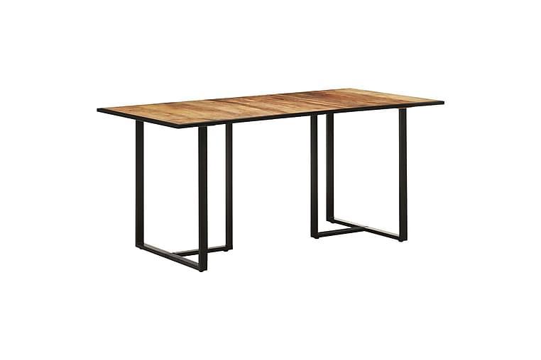 Matbord 160 cm grovt mangoträ - Brun - Möbler - Matplats - Matbord & köksbord