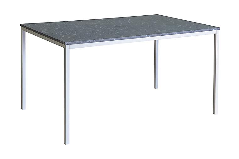 MILANTO Matbord 138 Mörkgrå Terrazzo/Vit - Möbler & Inredning - Bord - Matbord