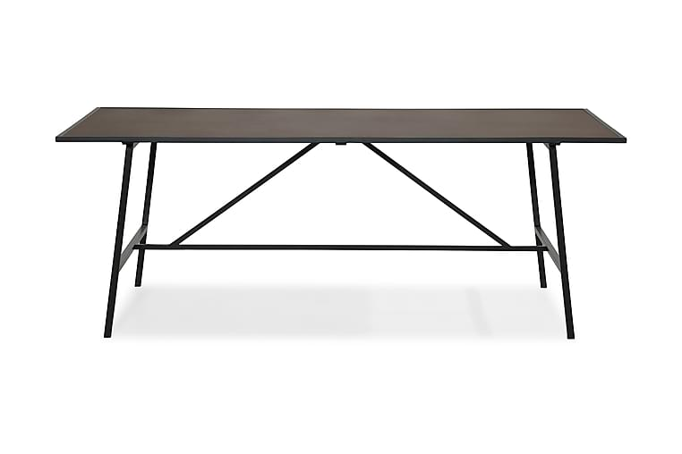 NEVA Matbord 204 Brun/Svart - Möbler & Inredning - Bord - Matbord