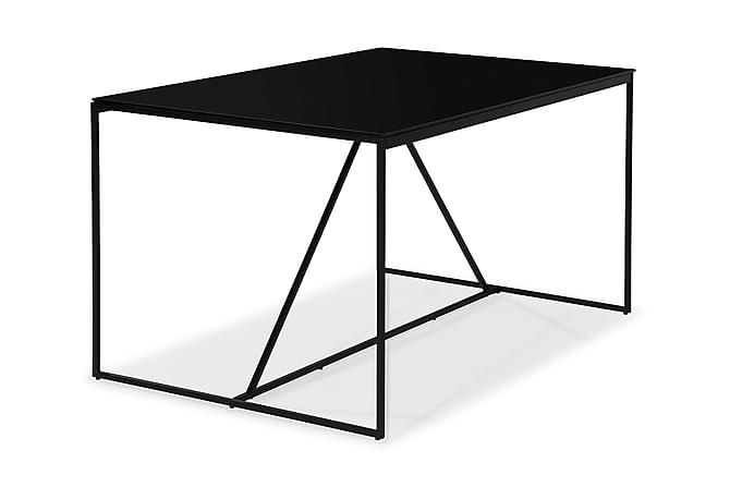 NIJOU Matbord 140 Glas/Metall - Möbler & Inredning - Bord - Matbord