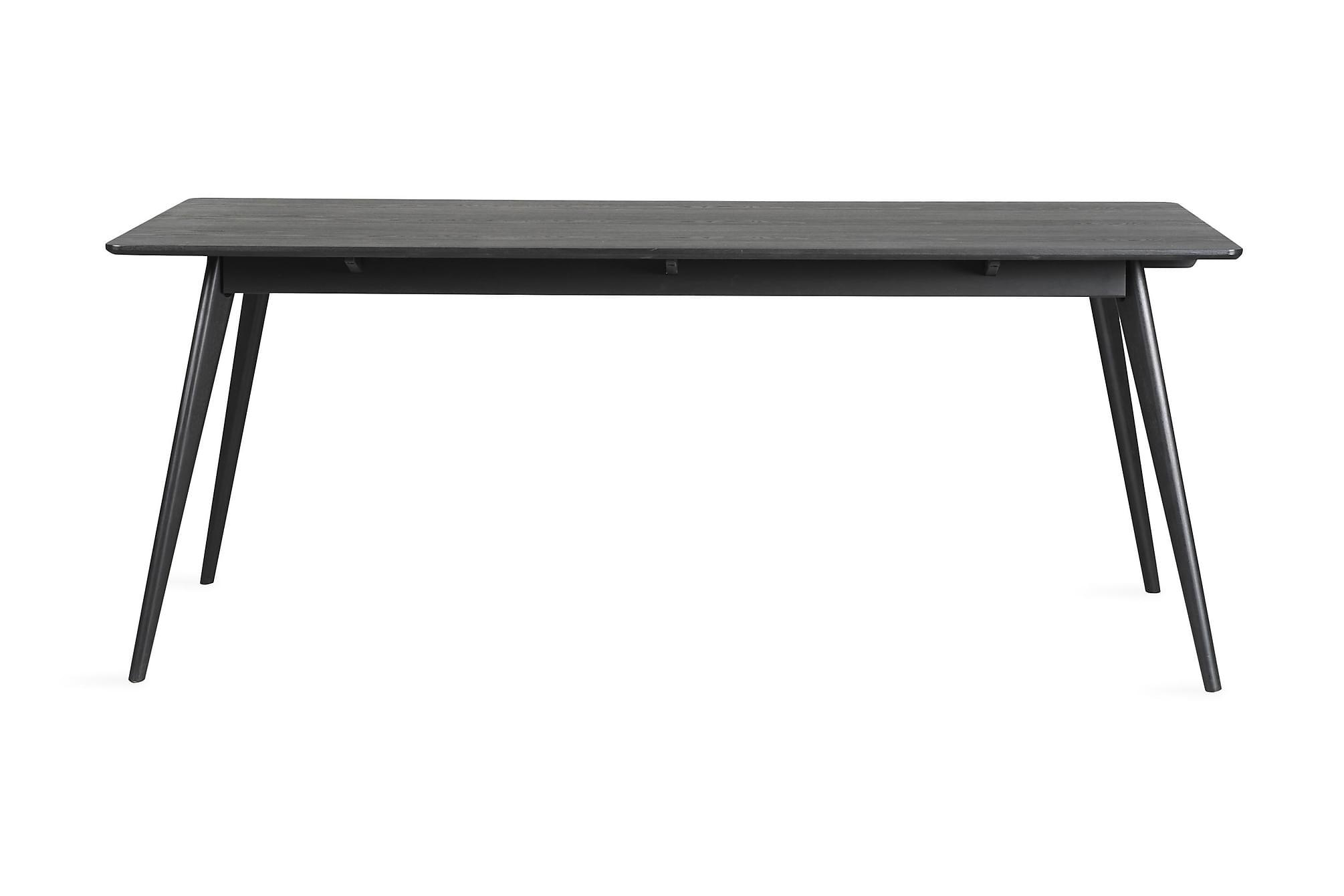 REFRESH Förlängningsbart Matbord 190 Svart