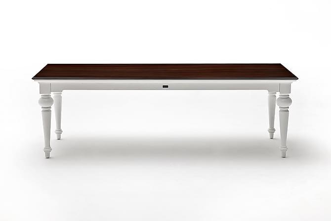 RODRIGO Matbord 240 Vit/Brun - Möbler & Inredning - Bord - Matbord