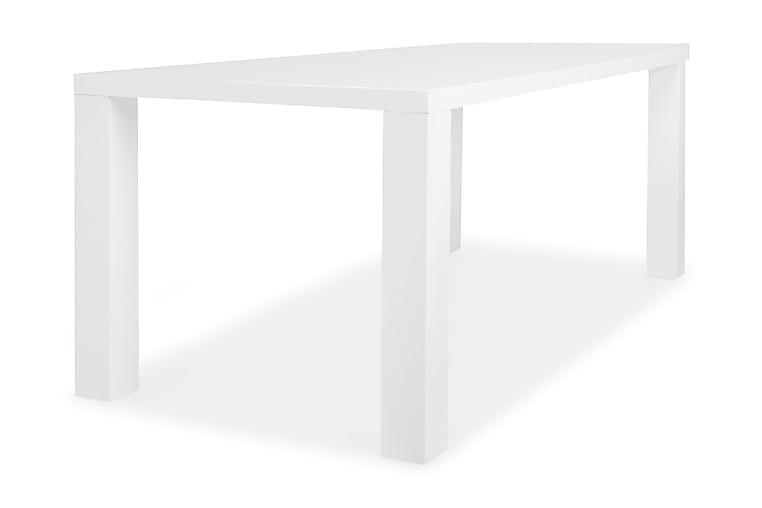 SALA Matbord 180 Högglans Vit - Möbler & Inredning - Bord - Matbord