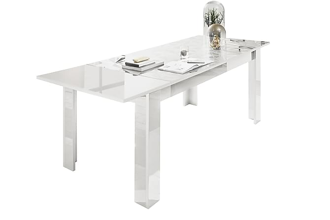 TIARE Förlängningsbart Matbord 137 Vit - Möbler & Inredning - Bord - Matbord