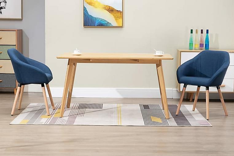 Matstolar 2 st blå tyg - Blå - Möbler & Inredning - Stolar - Matstolar