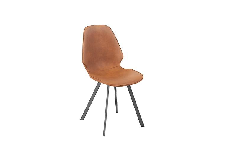 Stol Helena 50x46xh82cm Imiterat Läder - Möbler & Inredning - Stolar - Matstolar