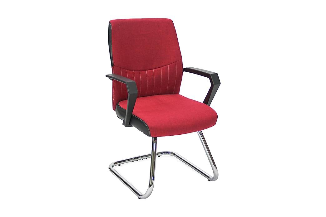 Stol ANGELO 58x57xH90 färg: röd - Möbler & Inredning - Stolar - Kontorsstol