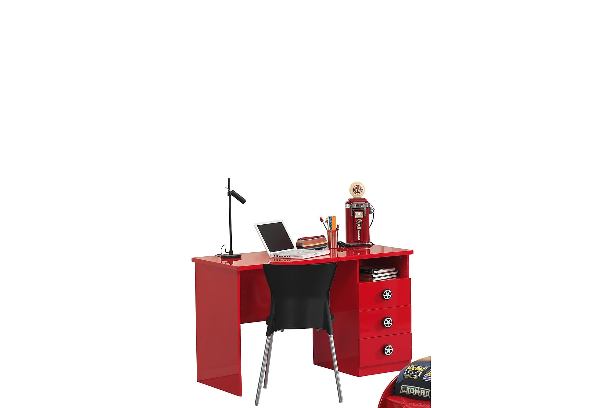 ADLIG Skrivbord Röd, Barnbord
