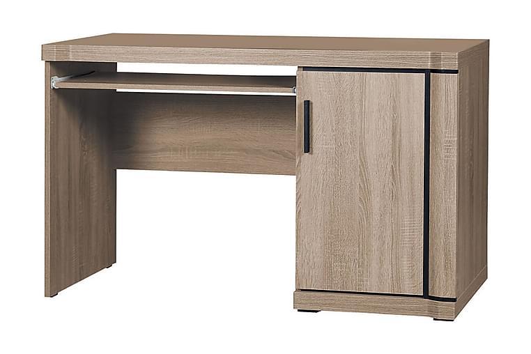 DALLAS Skrivbord 126x59x77 cm - Beige/Grå - Möbler & Inredning - Bord - Skrivbord