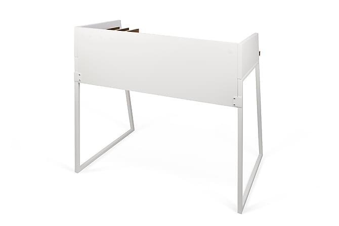 KANDAKE Skrivbord 90 Vit/Trä/Natur - Möbler & Inredning - Bord - Skrivbord