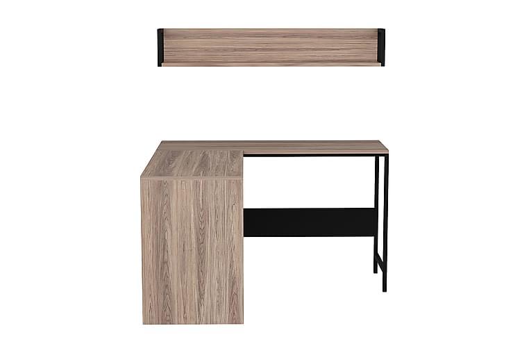 ORTO Skrivbord Brun/Svart - Homemania - Möbler & Inredning - Bord - Skrivbord