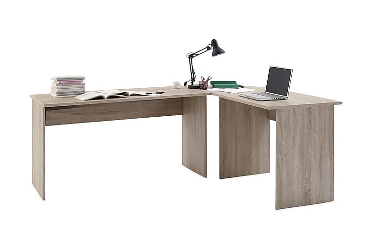 TILLY Hörnskrivbord 205 Ek - Möbler & Inredning - Bord - Skrivbord