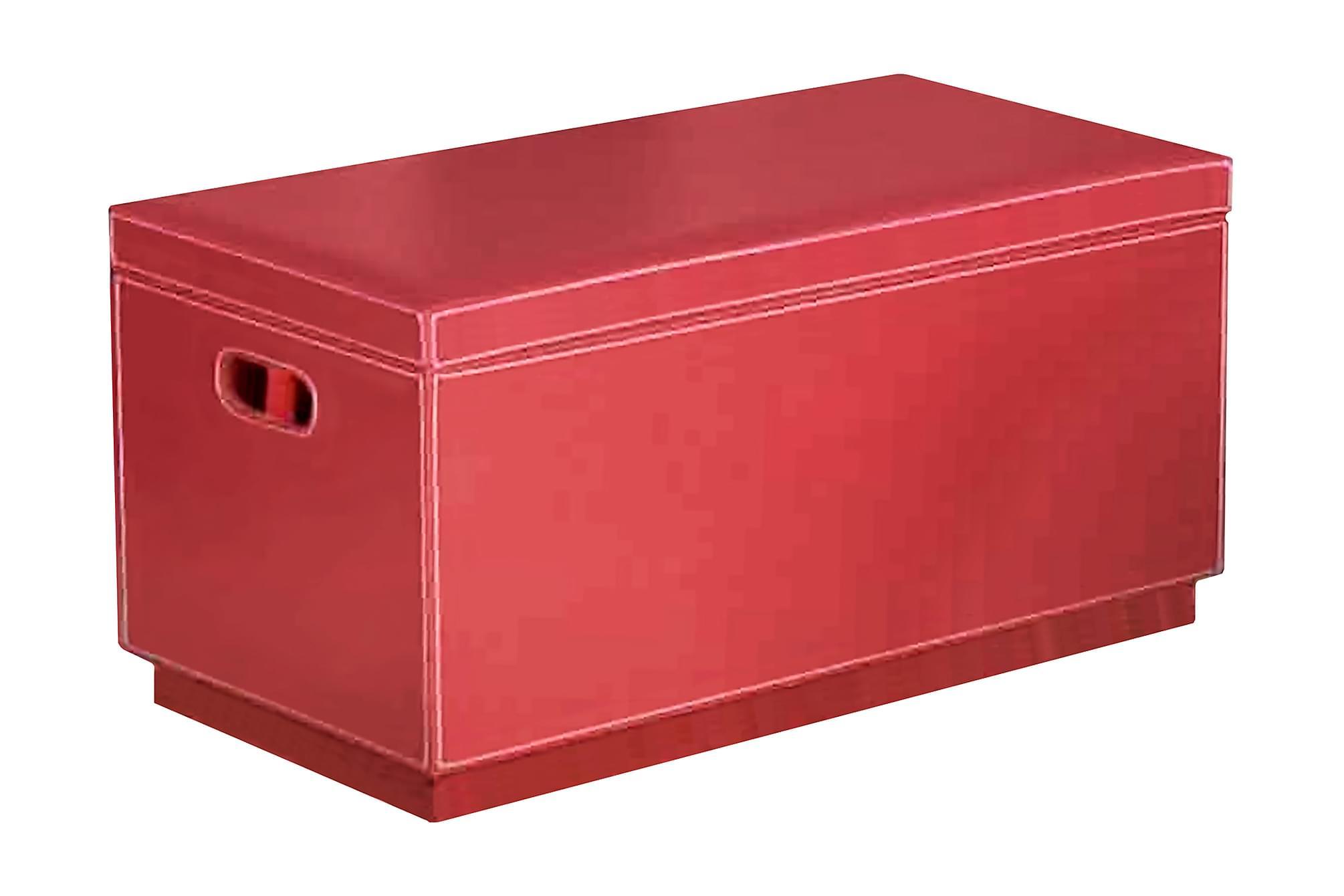 CAPAC Kista röd Kista, Förvaringskistor & sängkistor