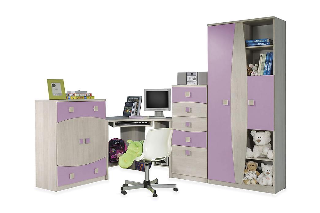 JELLON Sovrumsset barn - Vit - Möbler & Inredning - Möbelset - Möbelset för sovrum