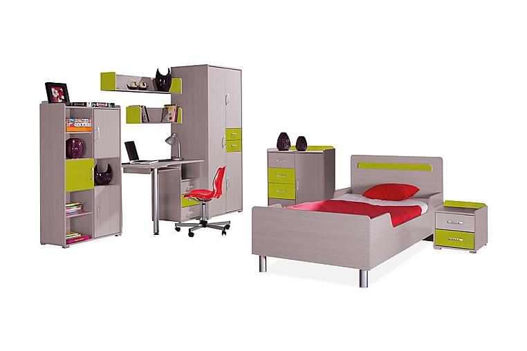 NEMO Sovrumsset barn - Trä/natur/Grön - Möbler & Inredning - Möbelset - Möbelset för sovrum