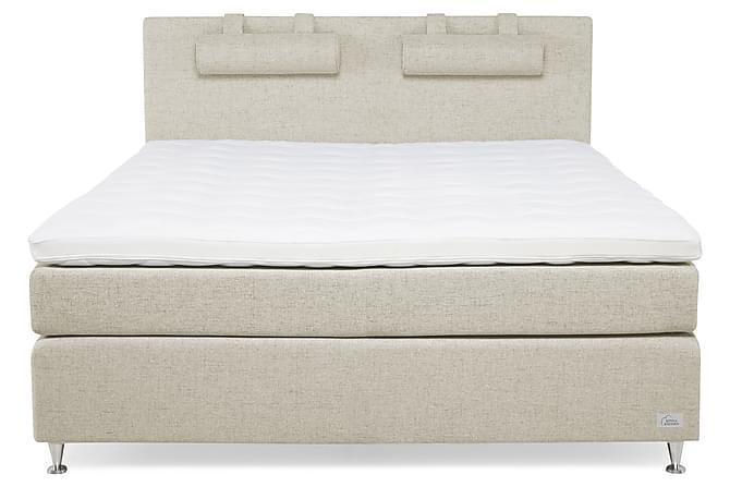 KINNABÄDDEN Sandwich Venus Sängpaket 180 M/F Latex - Beige - Möbler & Inredning - Sängar - Kontinentalsängar