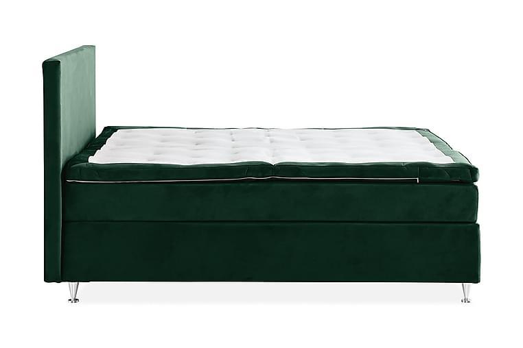 Kontinental SAFIR Velour Komplett Sängpaket 180x200 - Möbler & Inredning - Sängar - Kontinentalsängar