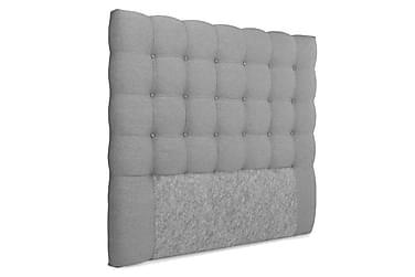 OAKHAM Komplett Sängpaket Säng med Förvaring 140x200 Ljusgrå