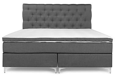 PEARL Premium Sängpaket Kontinentalsäng 160x200 Grå