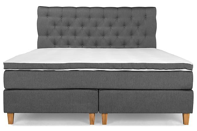 PEARL Premium Sängpaket Kontinentalsäng 180x200 Grå - Möbler & Inredning - Sängar - Komplett Sängpaket