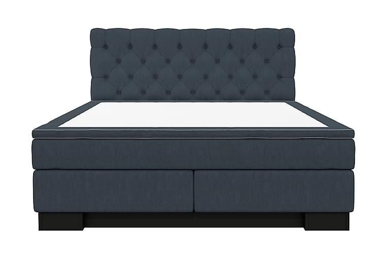 SINNEBO Kontinentalsäng 160 Mörkblå - Möbler & Inredning - Sängar - Kontinentalsängar