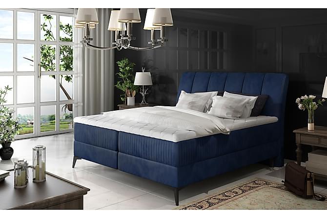TOYARA Ramsäng 160x200 cm Blå - Möbler & Inredning - Sängar - Ramsängar