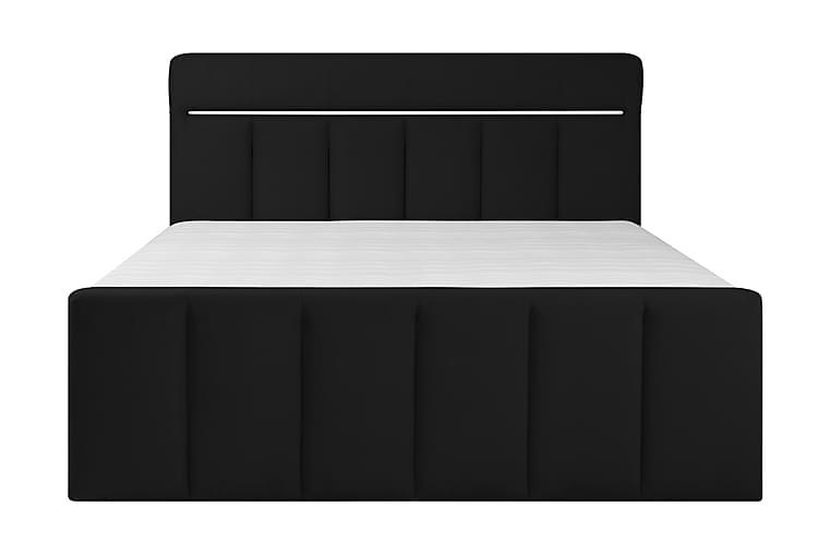 FRIDHEM Sängpaket Förvaringssäng 180x200 cm Mörkgrå - Möbler & Inredning - Sängar - Sängar med förvaring