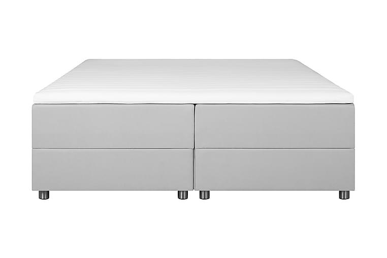 JOLLY Förvaringssäng 180x200 cm Ljusgrå - Ljusgrå - Möbler & Inredning - Sängar - Sängar med förvaring
