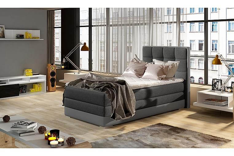 TENESHA Förvaringssäng 90x200 cm Grå - Möbler & Inredning - Sängar - Sängar med förvaring