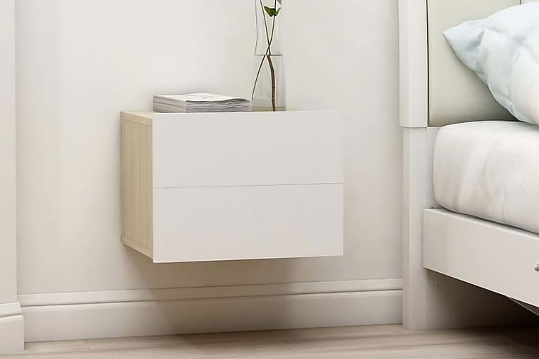 Sängbord 40x30x30 cm spånskiva - Beige - Möbler & Inredning - Bord - Sängbord